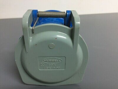 Hubbell 460R9 60 Amp 3 Phase 250 Volt Pin & Sleeve Receptacle
