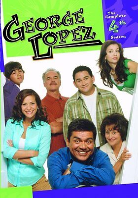 GEORGE LOPEZ SHOW: THE COMPLETE FOURTH SEASON Region Free DVD - Sealed