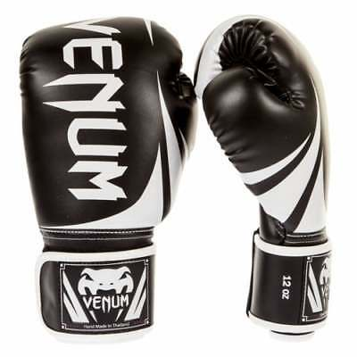Venum Challenger 2.0 MMA Boxing Gloves Muay Thai - Black