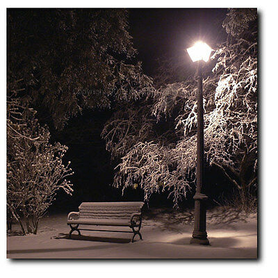 Silent Night: Hand finished fine art photography on canvas by Kenneth Lane Smith