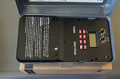 New NSI Industries Tork DGU100A-Y Lighting Control Photo Time Switch 120v-277v
