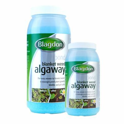 Blagdon Algaway Blanketweed Garden Pond Water Treatment String Algae Remover