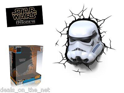 Star Wars Storm Trooper Stormtrooper 3D Led Deco Wall Light Night Light Children