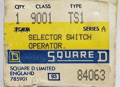 Square D Heavy Duty Selector Switch Operator 9001 TS1