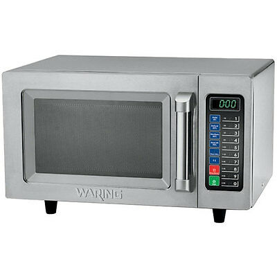 Waring WMO90 Commercial Medium Duty Microwave Oven 1000 WATTS .9 CUBIC FEET