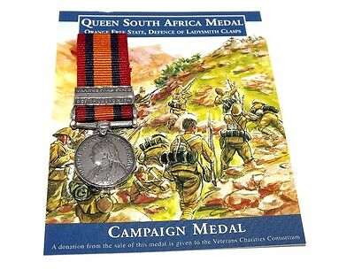 Queen South Africa Boer War Medal 1899-1902 - (Miniature Reproduction)