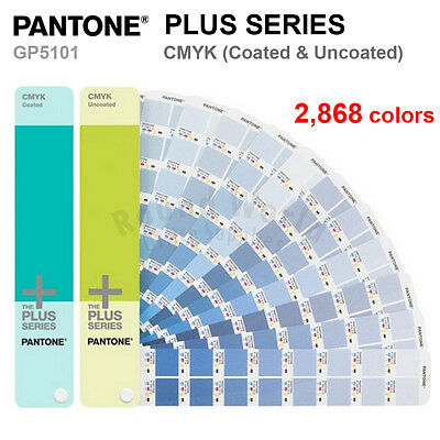 Pantone Plus Series GP5101 CMYK (Coated & Uncoated) 2,868 Colors