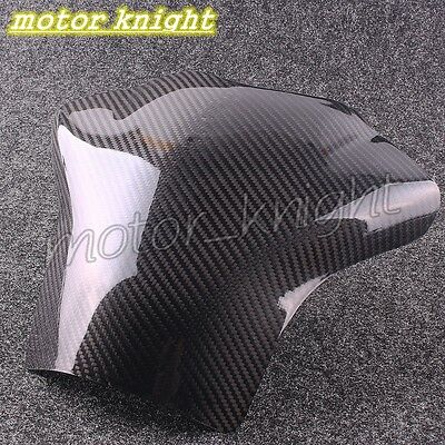 Real Carbon Fiber Fuel Gas Tank Cover Protector For Yamaha YZF R1 2004-2006