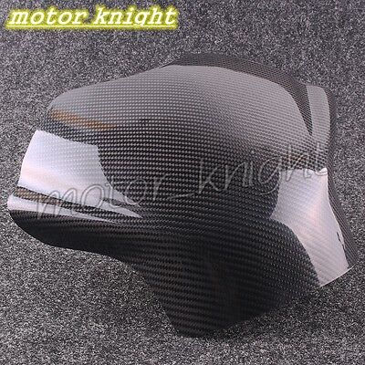 New Carbon Fiber Fuel Gas Tank Cover Protector For Yamaha YZF R6 2008-2015 KT