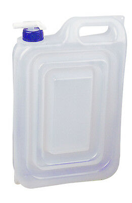 2 x 4 Litre COLLAPSBLE FOLDING WATER CARRIERS FOOD SAFE CONTAINERS camping
