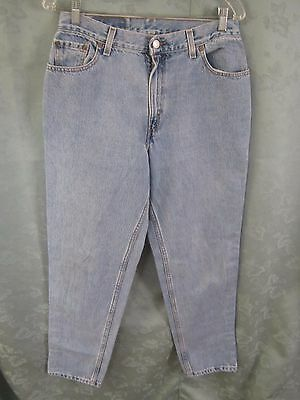 90's Levis 550 Relaxed Tapered High Waist Jeans Size 12