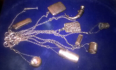 Sterling Silver Chatelaine