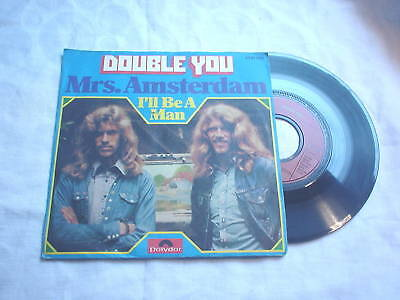 "Double You - Mrs. Amsterdam - I´ll Be A Man 7"" Single - RAR  (Q17"