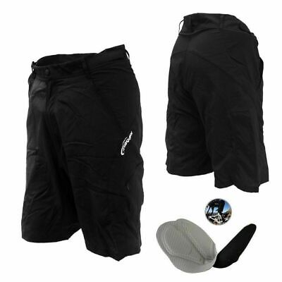 Quality Baggy Bike Bicycle Cycling Knicks Padded Shorts