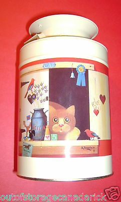 Cat Collectible Tin Looks Great