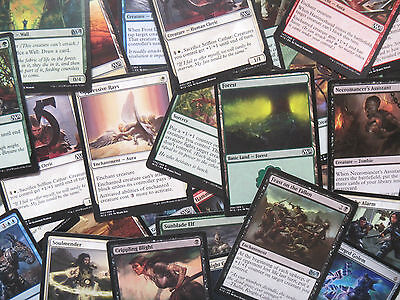 Bulk Lot 50 Magic: The Gathering Cards MTG No Duplicates! Common/Uncommon/Rare
