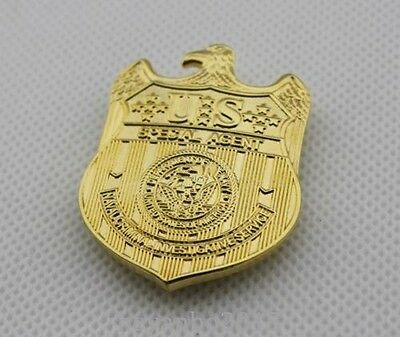 free delivery NCIS SPECIAL AGENT POLICE MINI BADGE MONEY CLIP