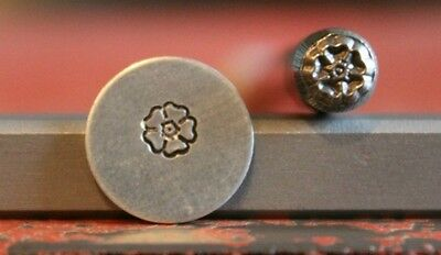 SUPPLY GUY 5mm Flower Metal Punch Design Stamp SGM-39, Made in the USA