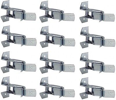 """(12) Crawford  SG1G-6 1-1/2"""" Giant Spring Grip Tool Handle Brackets / Clips"""