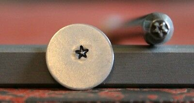 SUPPLY GUY 3mm Mini Star Metal Punch Design Stamp SGNJ-5,Made in the USA