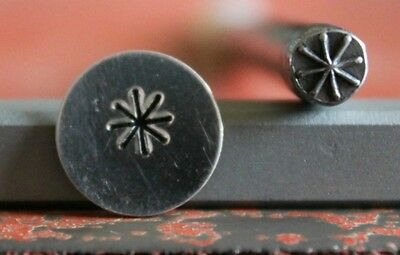 SUPPLY GUY 5mm Star Metal Punch Design Stamp SGT-21, Made in the USA