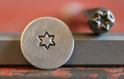 SUPPLY GUY 5mm Star Metal Punch Design Stamp SGM-2, Made in the USA