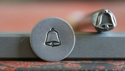 SUPPLY GUY 5mm Bell Metal Punch Design Stamp SGA-54, Made in the USA