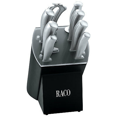 RACO Professional Choice 9 Piece Knife Block Set Stainless Steel NEW