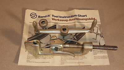 Band-It Tool C001 2400Lb Tensioning Capabilty, Spring Loaded Gripper