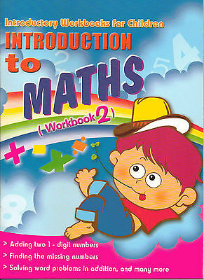 Introduction to Maths 2 Childrens Activity Practice Book Kids Read Write Learn