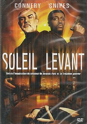 "DVD ""Soleil levant"" Sean Connery  NEUF SOUS BLISTER"