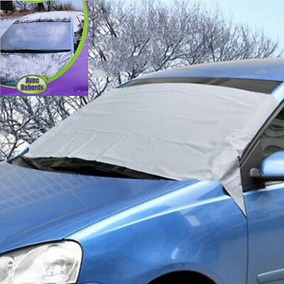 Car Wind Screen Cover Ice Snow Frost Dust Sun Shade Protection