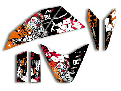 KTM Supermoto 690 R (2007-2010) | JOKER FX DEKOR DECALS KIT Aufkleber graphics