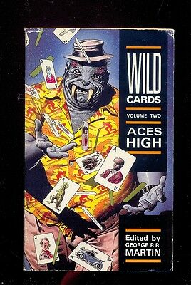 Wild Cards 2 Lewis Shiner, G R.R. Martin... Ace High, Titan 1989 (old new stock)
