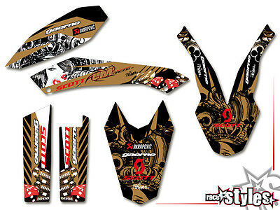 KTM 690 SMC SMC/R ENDURO (08-17) | Sticker Aufkleber DECALS KIT STICKER graphics