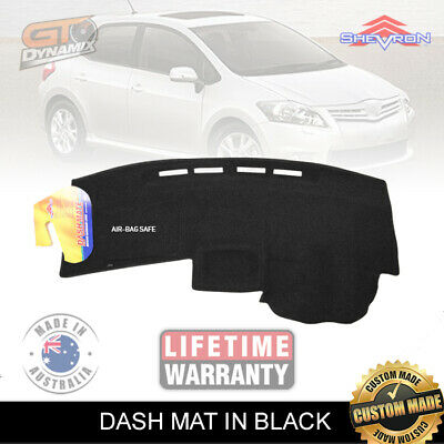 DASH MAT to Suit TOYOTA Corolla Hatch ZRE152 04/2007 to 10/2012 DM1045 BLACK