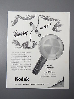 R&L Ex-Mag Vintage Advertisement: Kodak Flashholder Flashgun 1950's