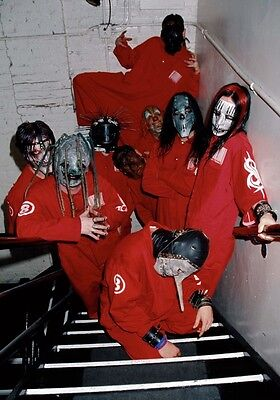 SLIPKNOT Self Titled PHOTO Print POSTER The Gray Chapter IOWA Shirt Masks 047