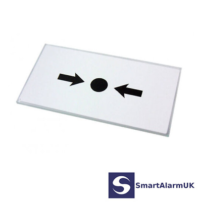 Pack of 5 KAC Fire Alarm Call Point Break Glass Replacement / Spare MUS155 KG1