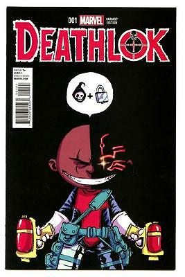 Deathlok #1 (2015) Marvel NM/NM- Skottie Young Variant