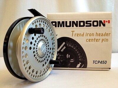 Amundson Trend Iron Centerpin Float Reel  **new**