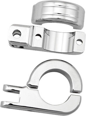 "HardDrive Footpeg Mount Clamps 1 1/2"" Bar Male End Footpegs"