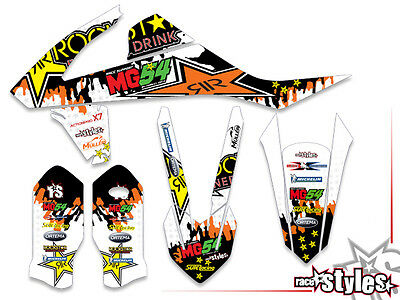 KTM SX SXF EXC 85 125 250 300 350 450 | 2016-| AMA MX DEKOR Decal KIT Motocross