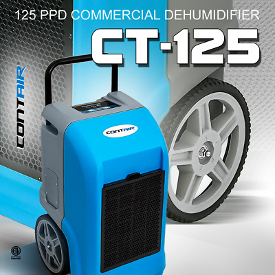 Contair® CT-125 ETL Certified Commercial Grade Dehumidifier Humidity Controller