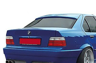 BMW E36 Saloon 4D M M3 2 Door Roof Extension Rear Window Cover Spoiler Wing Trim