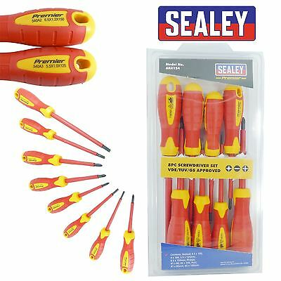 Sealey Screwdriver Set 8pc VDE Approved