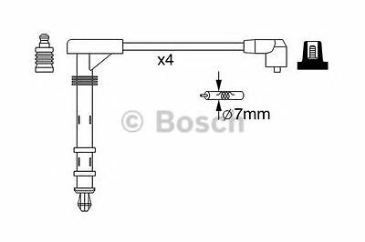 Bosch Ignition Cable Kit 0986357261