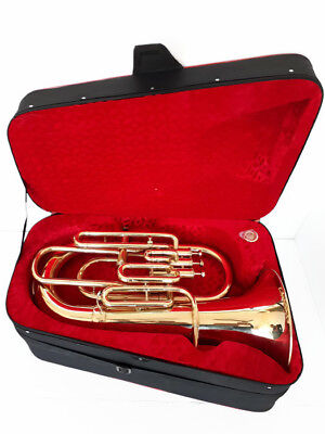 *Valueable Bb/F 4 Valve Euphonium Brand New Brass With Free Hard Case+MOUTHPIECE