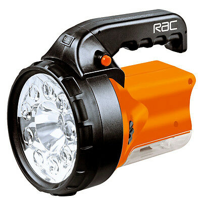 RAC Rechargeable 3-in-1 High Power 9 LED Spotlight Torch Light