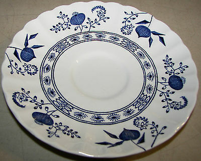 "Vintage Blue Nordic Classic J & G Meakin England 5 3/4"" Saucer"